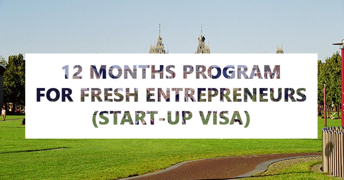 12 months start-up visa